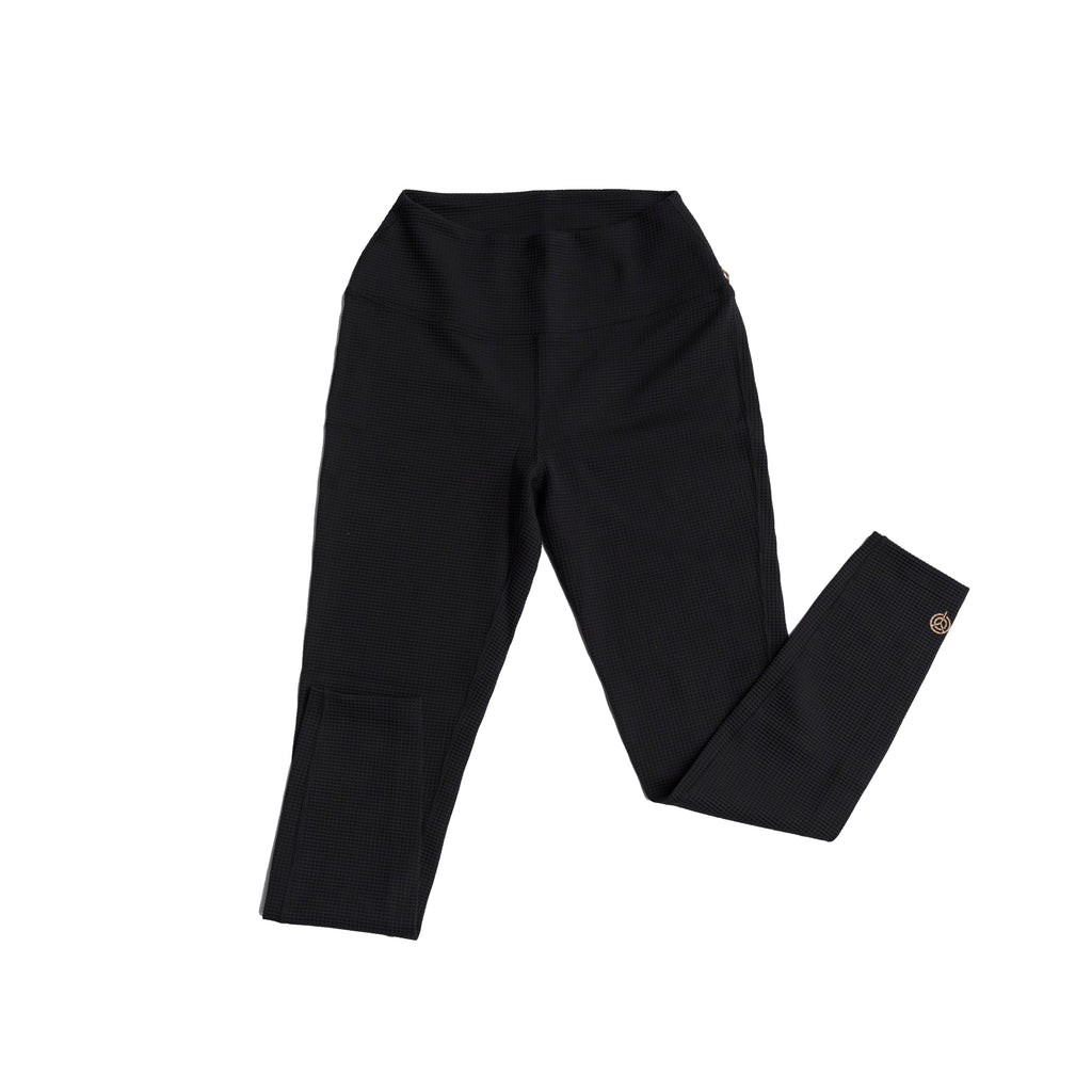 YEAR OF OURS - HIGH WAIST THERMAL LEGGING (BLACK)