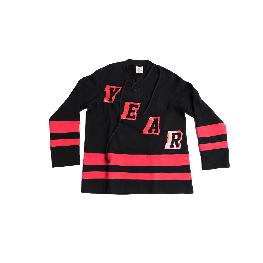 YEAR OF OURS - HOCKEY JERSEY (BLACK)