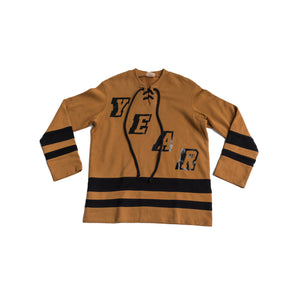 YEAR OF OURS - HOCKEY JERSEY (RUST)