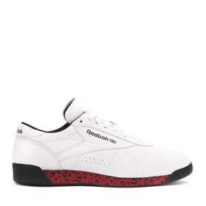 REEBOK x MELODY EHSANI - FREESTYLE LO (WHITE/RICH MAGMA/BLACK)