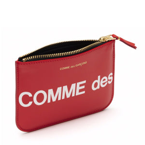 Comme Des Garcons Huge Logo Pouch (Small)