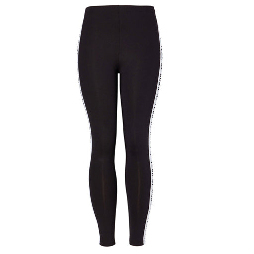YEAR OF OURS - SIDE ELASTIC LOGO LEGGING (BLACK)