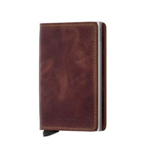 SECRID - SV-BROWN (SLIMWALLET VINTAGE BROWN)