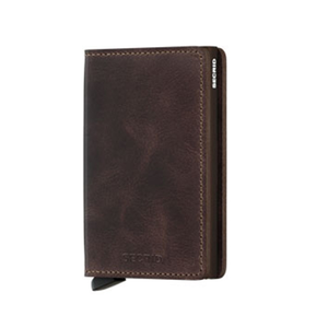 SECRID - SV-CHOCOLATE (SLIMWALLET VINTAGE CHOCOLATE)