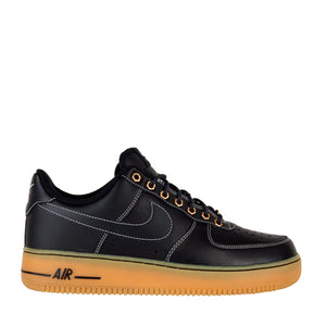NIKE - AIR FORCE 1 (BLACK/GUM)