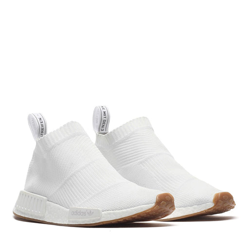 ADIDAS - NMD CITY SOCK (WHITE/WHITE/GUM)