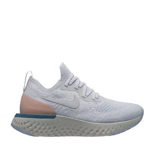 W NIKE EPIC REACT FLYKNIT (PURE PLATINUM)