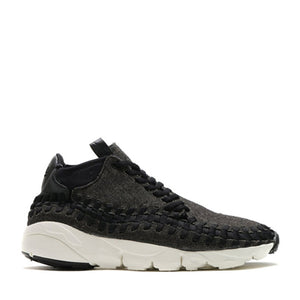 NIKE - AIR FOOTSCAPE WOVEN CHUKKA SE (BLACK), phone order only