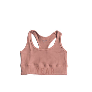 YEAR OF OURS - RIBBED YEAR BRA (NUTMEG)