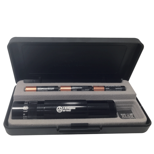 Maglite XL50 LED Black Torch and Gift Box