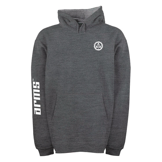 LITHGOW ARMS GREY HOODIE