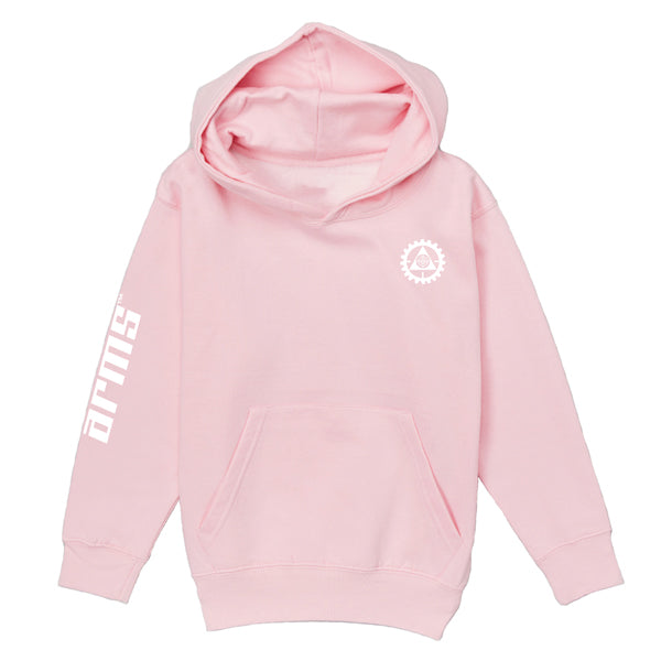 LITHGOW ARMS PINK HOODIE