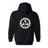 LITHGOW ARMS BLACK HOODIE (NEW)