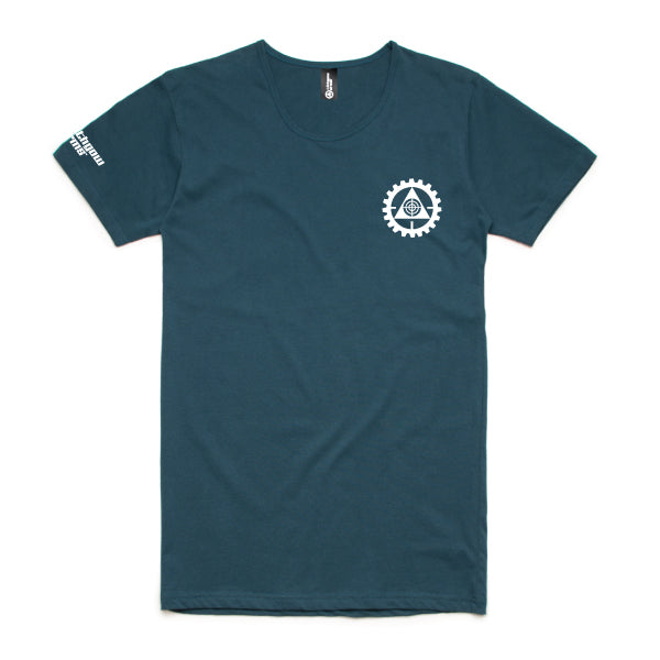 Lithgow Arms Mens Tee Military Teal