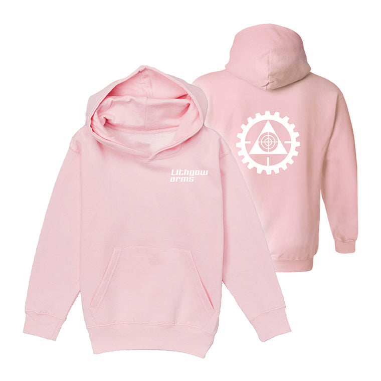LITHGOW ARMS PINK HOODIE (NEW)