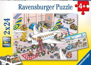 Ravensburger Puzzle 2x24pc - All About Planes