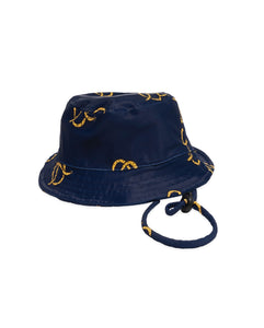 Band of Boys - Baby Swim Hat- Pretzel - Navy