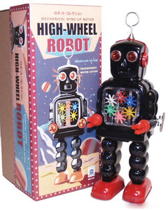 Ha Ha Toy - High Wheel Robot - Sparking Action