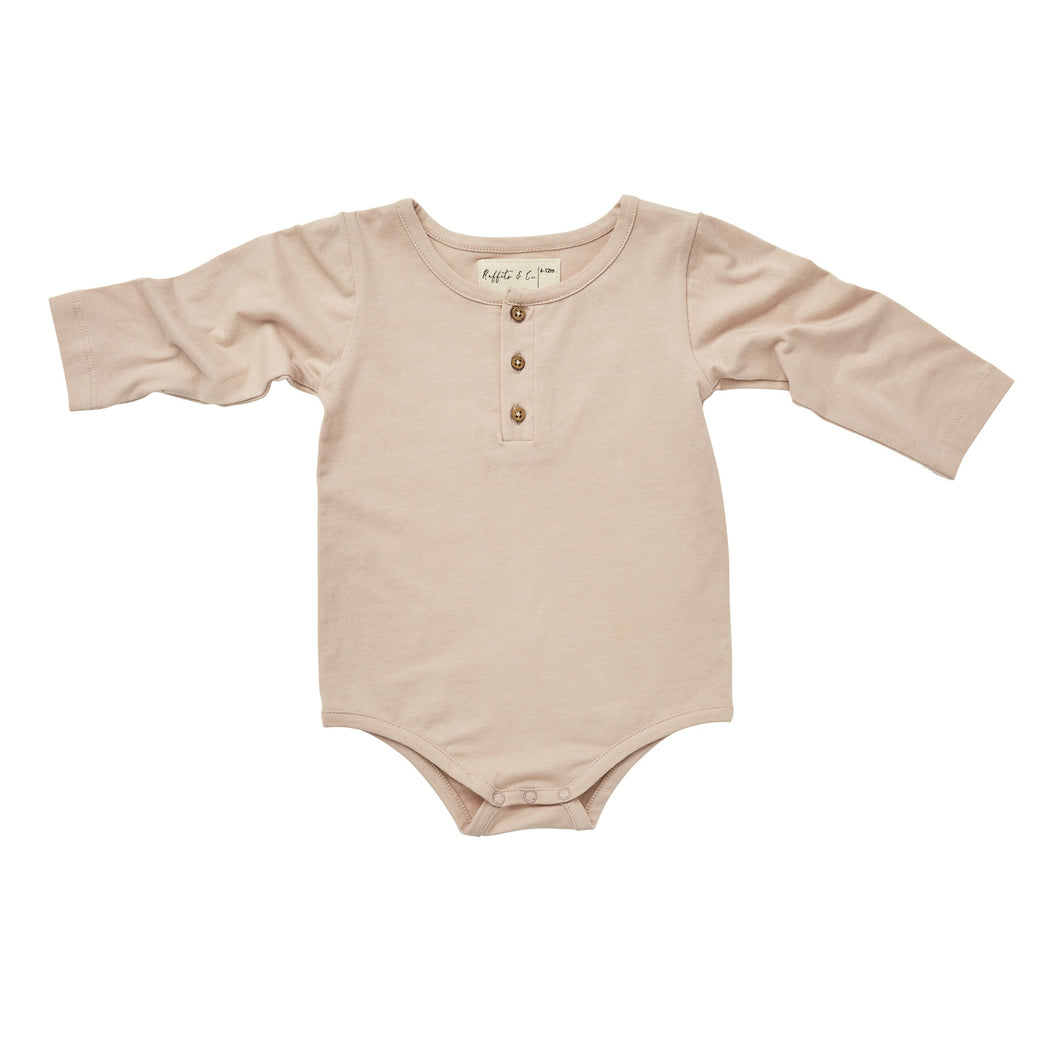 Ruffets & Co - Baby Grow Bodysuit - Blush Pink