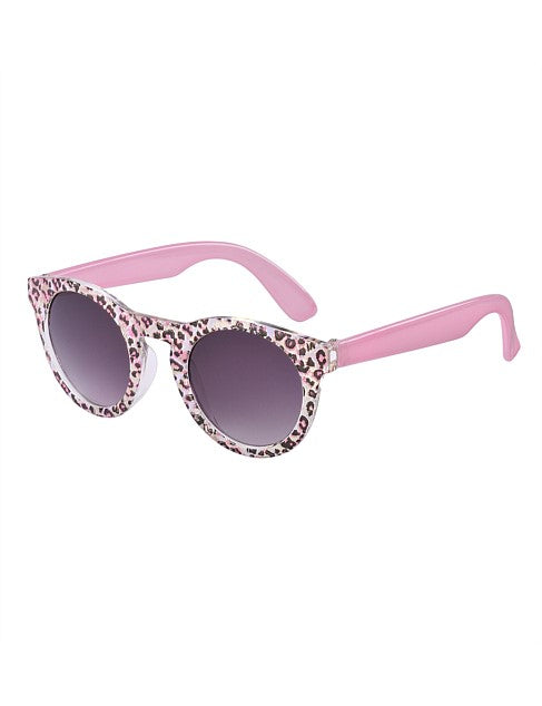 Frankie Ray Sunglasses - Candy - Pink Leopard