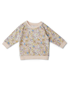 Walnut Baby - Jumper - May Gibbs - Gum Blossom