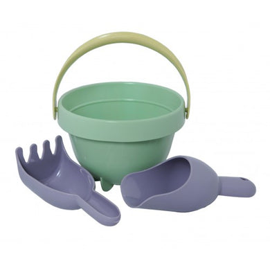 Plasto I AM GREEN - Baby Beach Bucket Set