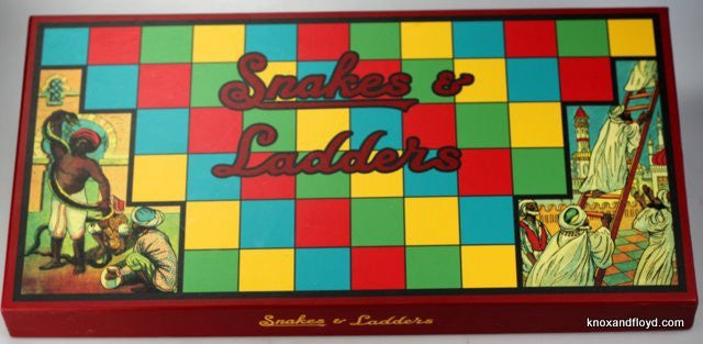 Knox and Floyd - Snakes and Ladders Game