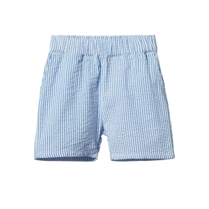 Nature Baby - Blue Stripe Sailor Shorts