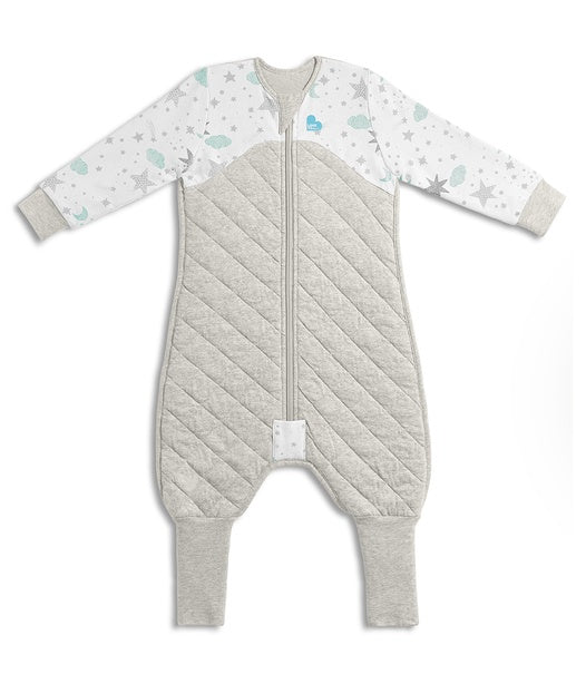Love to Dream - Sleep Suit - 3.5 TOG - White