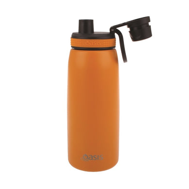 Oasis - Insulated Stainless Steel Sports Drink Bottle - Orange