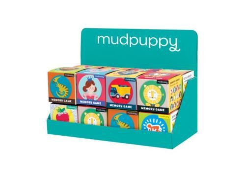 Mudpuppy Mini Memory Match