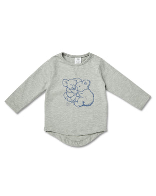 Walnut Baby - L/S Tee - May Gibbs Koala Cuddles