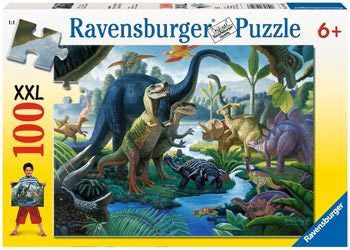 Ravensburger Puzzle 100pc Land of The Giants