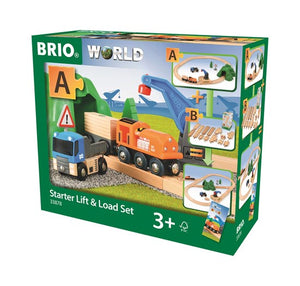 Brio - Lift & Load Train Set