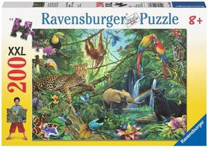 Ravensburger Puzzle 200pc - Animals in the Jungle