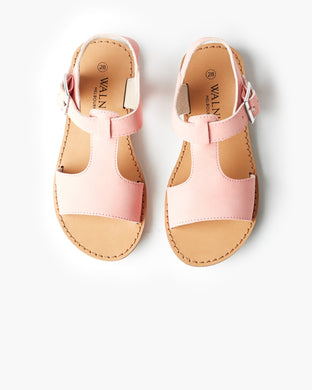 Walnut - Racer Sandal - Lolly Pink