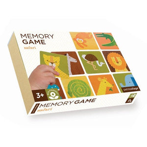 Petit Collage Memory Game - Safari