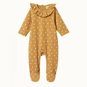 Nature Baby - Florence Suit - Chamomile Straw Print