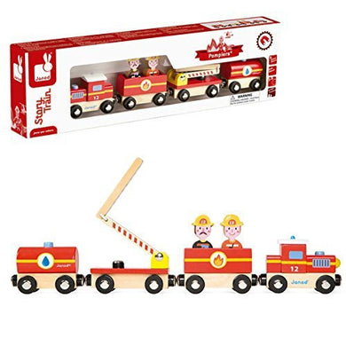 Janod - Story Firefighter Train