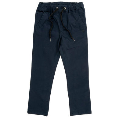 Alphabet Soup - Blunt Chio Pants - Midnight Navy