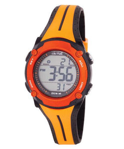 Cactus Watch - Surf Tech - Orange and Black