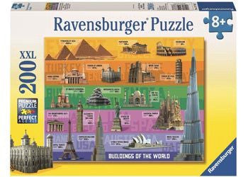 Ravensburger Puzzle 200pc World Famous Buildings