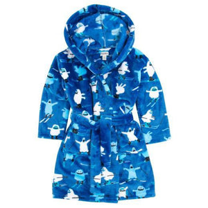 Hatley - Fleece Robe - Ski Monsters