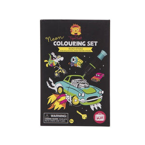 Tiger Tribe - Colouring Set - Neon - Road Stars