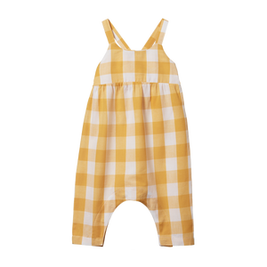 Nature Baby - Honey Check Picnic Suit