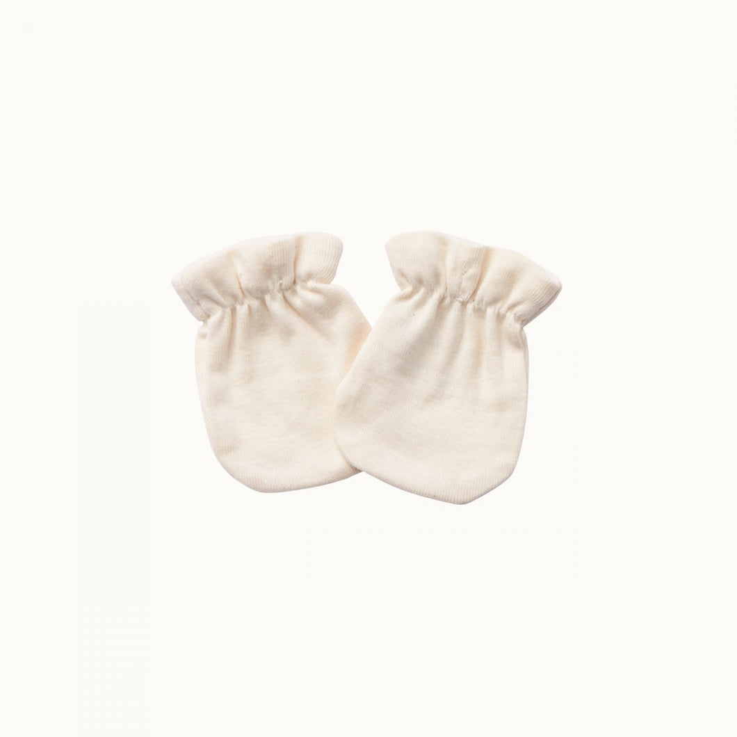 Nature Baby - Newborn Mittens - Natural