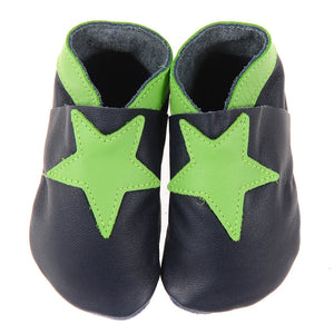 Pitter Patters Star /Lime Navy