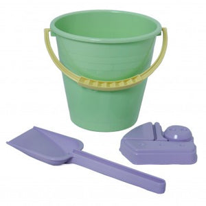 Plasto I AM GREEN - Beach Bucket Set