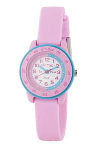 Cactus Watch - Time Coach - Pink and Aqua