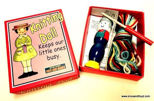 Knox & Floyd - Knitting Doll
